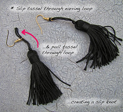 2-Step1-Chain-Tassel-Earrings | by ...love Maegan