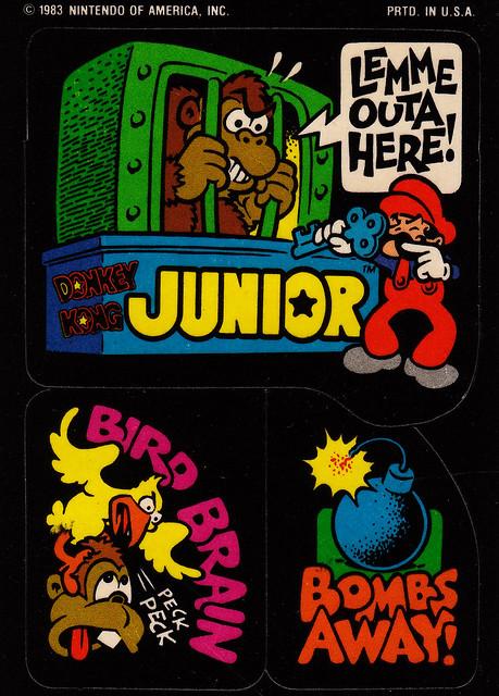 Donkey Kong Junior Stickers 3 Flickr Photo Sharing