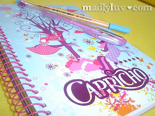 caderno capricho