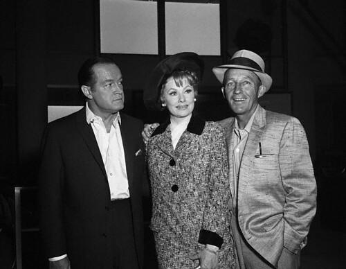 Bob Hope, Lucy, Bing Crosby