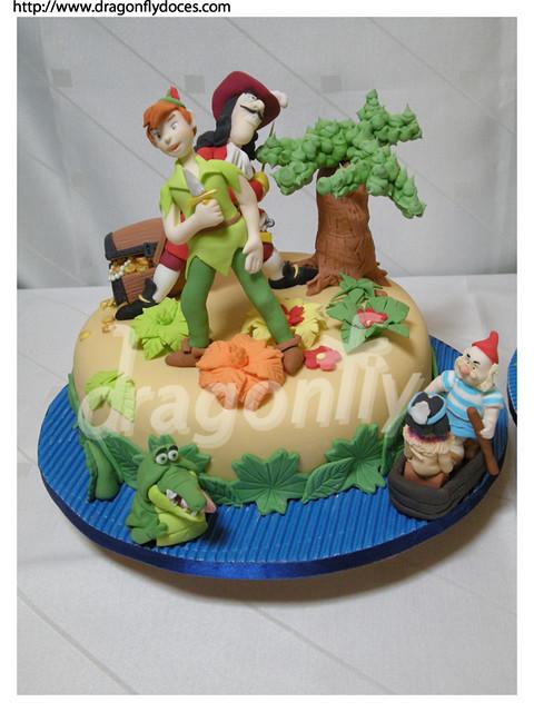 Peter Pan Cake 2 Bolo Peter Pan 2 Two Peter Pan