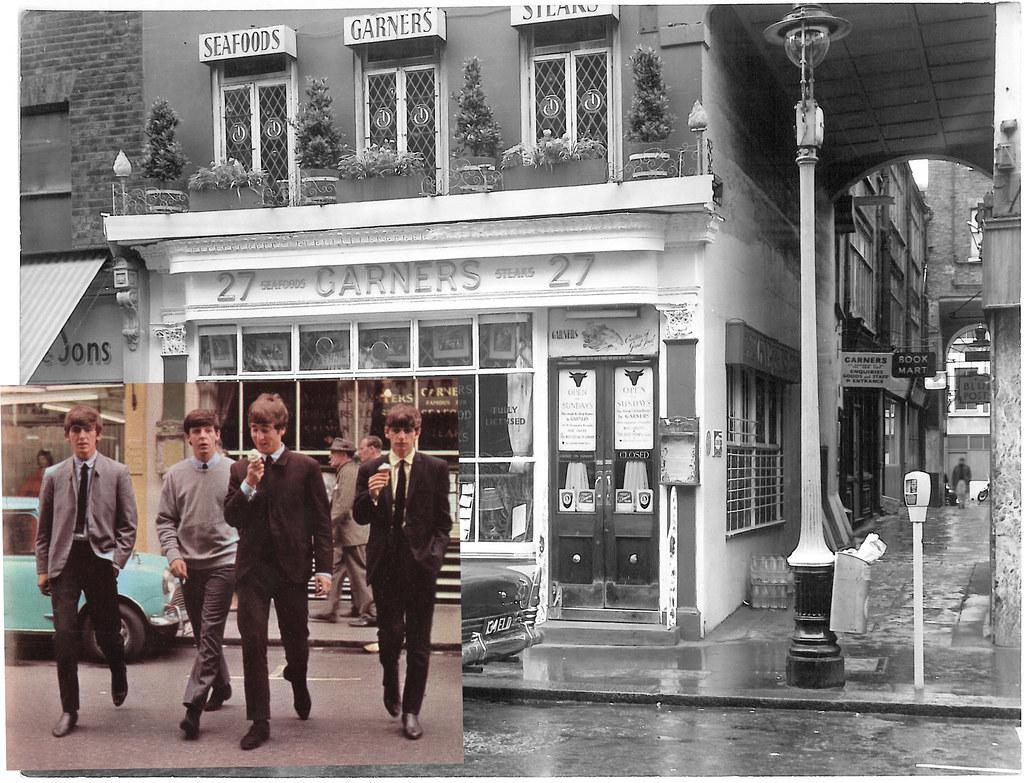 The Beatles In Wardour Street Bottom Left The Beatles