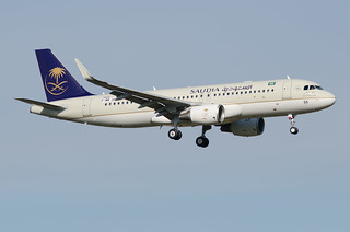 F-WWDH / HZ-AS55 - Airbus A320-214(WL) - Saudia - msn 7550