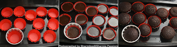 How to make Eggless Chocolate Cupcake Recipe - Step4