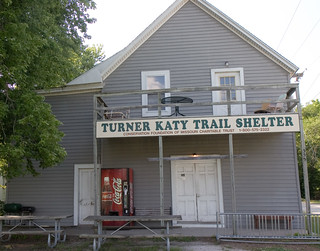 Turner Katy Trail Shelter | by Wally Hartshorn