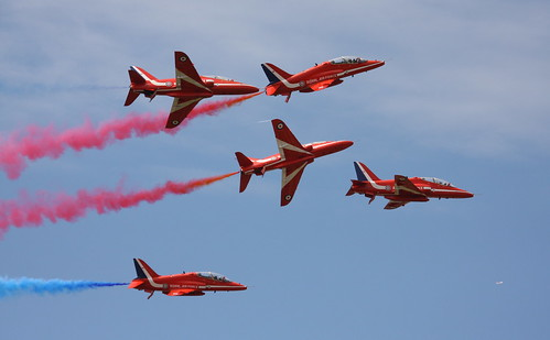 Goodwood festival of speed 2009 red arrows | by richebets