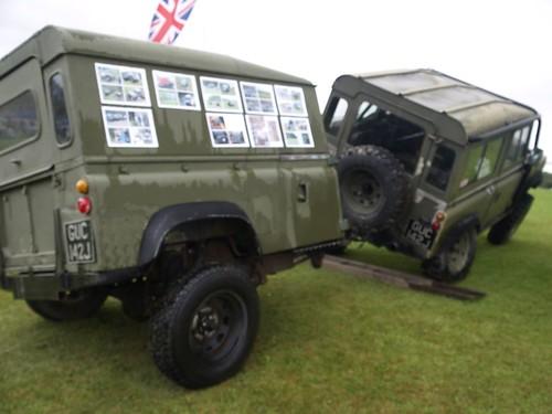Land Rover Amp Trailer Tough Demo 1970 Land Rover