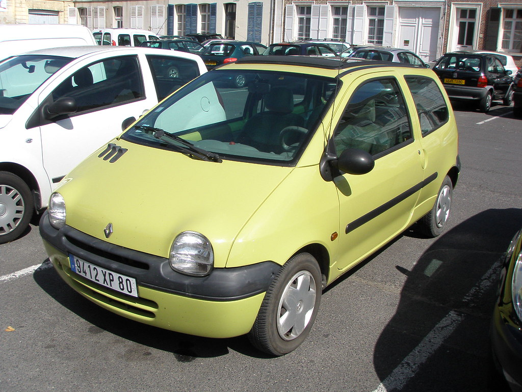 renault twingo jaune gueguette80 d finitivement non voyant flickr. Black Bedroom Furniture Sets. Home Design Ideas