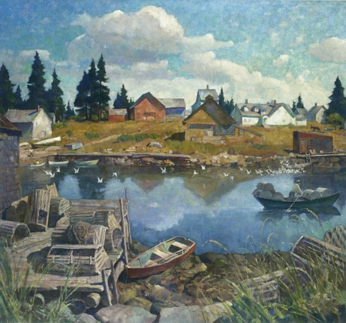 N c wyeth port clyde maine katrencikphoto flickr for Fishing jobs in maine
