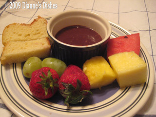 Double Chocolate Caramel Fondue | by Dianne's Dishes