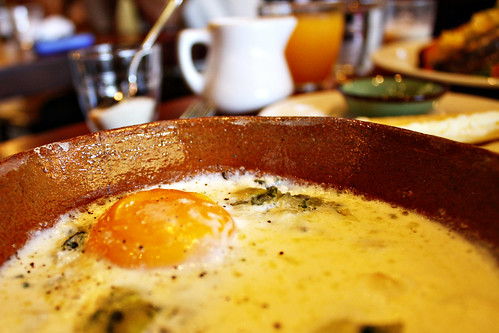 Wood oven-baked egg | by margaretedith