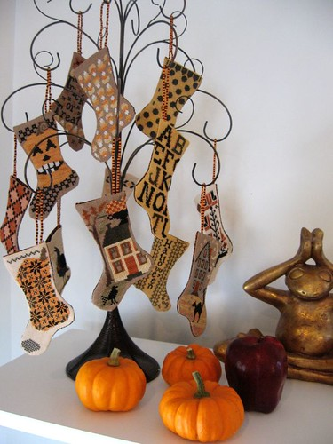 tis hallowe'en stockings - blackbird designs | by wakana b