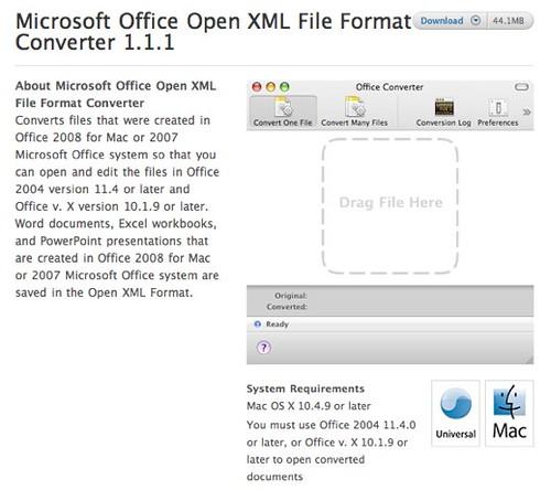 Apple downloads system disk utilities microsoft offi - Office open xml format or open document format ...