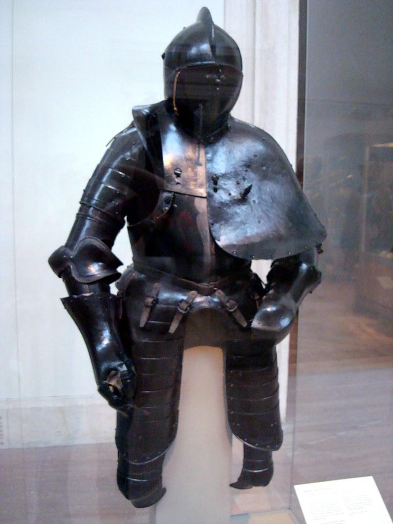 Jousting Armor (Rennzeug) | steel, leather, paint German ...