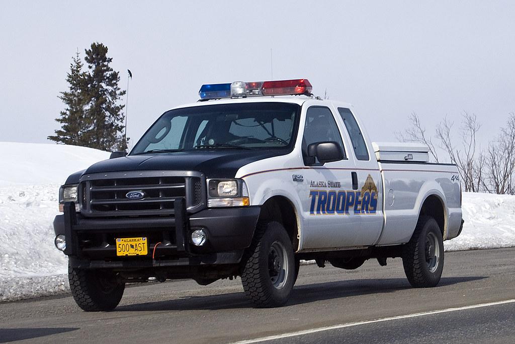 state police car 2008 denali hw ak alaska state troopers t flickr. Black Bedroom Furniture Sets. Home Design Ideas