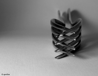 Clasped steel | by Deborah Booth (@Epsilon)