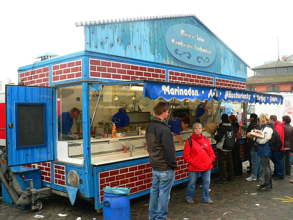 The Sunday Hamburg Fish Market Alkan Boudewijn De