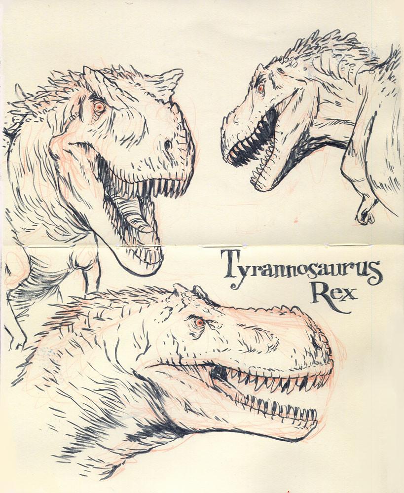 tyrannosaurus rex 01 | that great tyrant lizard. this