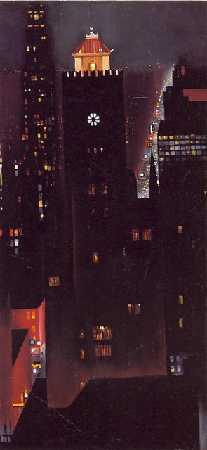 Georgia OKeeffe New York Night Georgia OKeeffe New