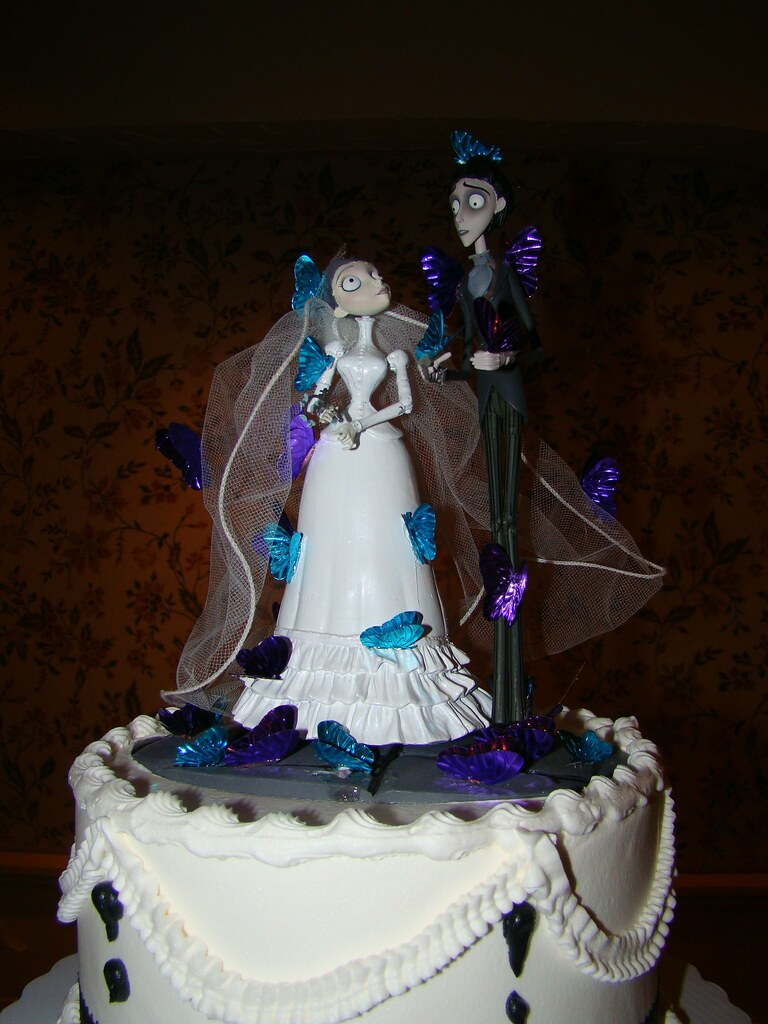 corpse bride wedding cake topper corpse topper our victor and from the 12953