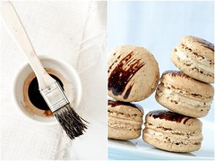 Coffee Chicory Macarons | by tartelette