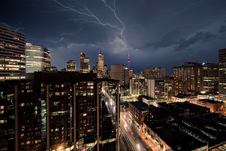 Lightning city | by wvs