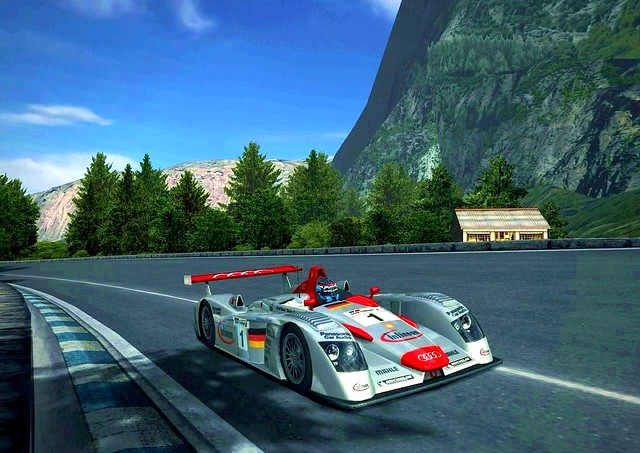 Gran Turismo Audi R Race Car I Created These Photo Flickr - Audi r8 race car 01 gt5