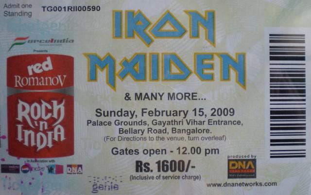 Resultado de imagem para bangalore palace iron maiden
