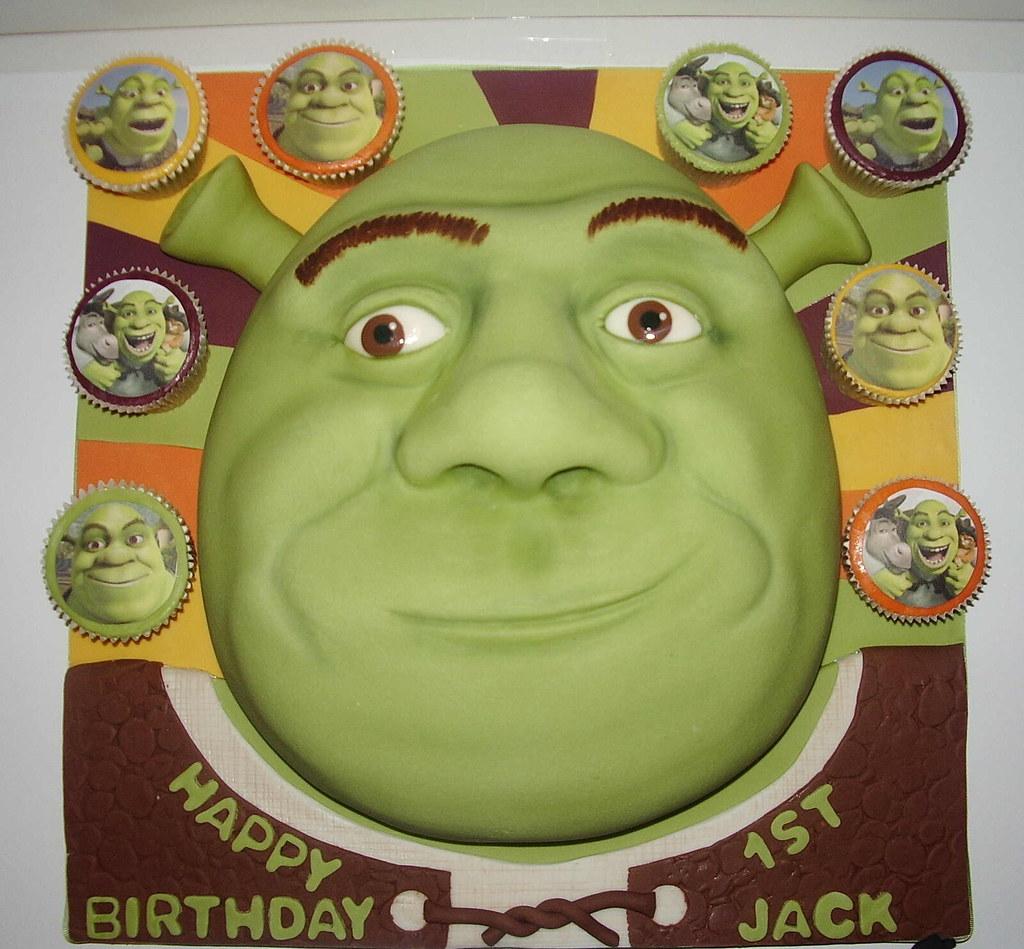 Shrek Birthday Cake Pictures
