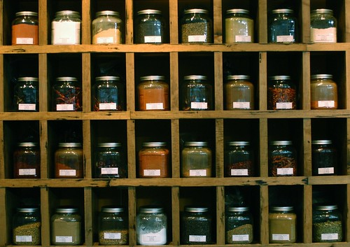 spices at Oxbow | by shauna | glutenfreegirl