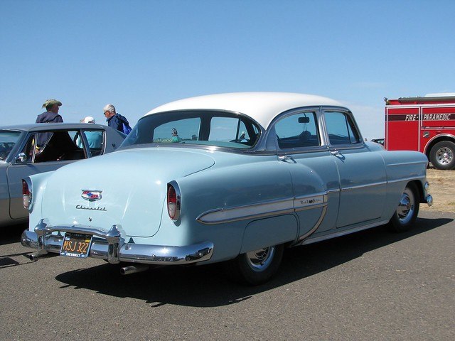1954 chevrolet bel air 4 door sedan 39 msj 322 39 2 flickr for 1954 belair 4 door