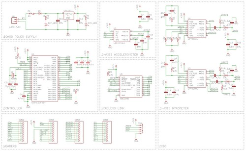 quadrotor schematic version 0 1 of circuit for my quadroto flickr