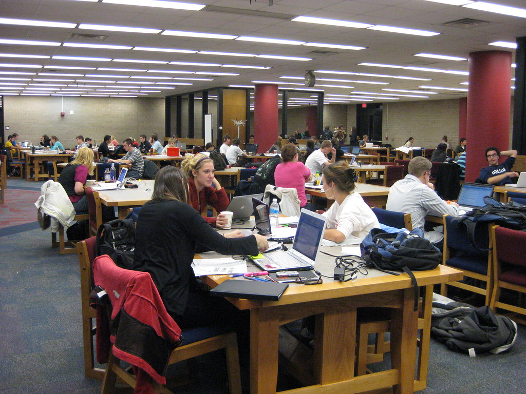 ready to pull an all nighter best study spots at uw madison college library