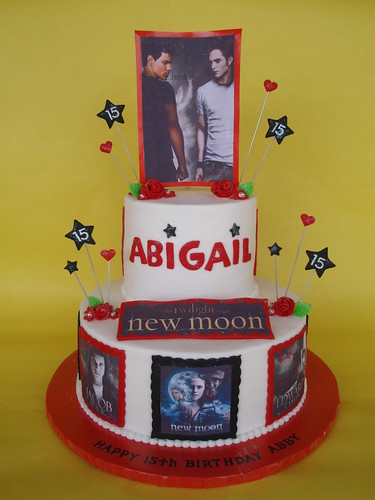 Cake Birthday For  Jacob From Twilight