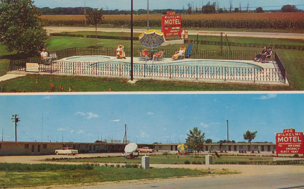 Joe Wilhelmi Motel and Cafe - Rock Falls, Illinois