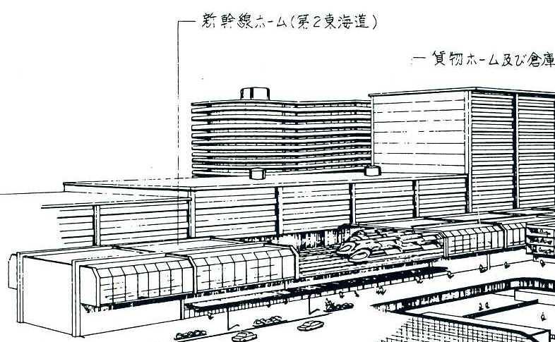 汐留駅は京葉線総武開発線とリニアモーターカーのターミナルとなるはずだった (3)