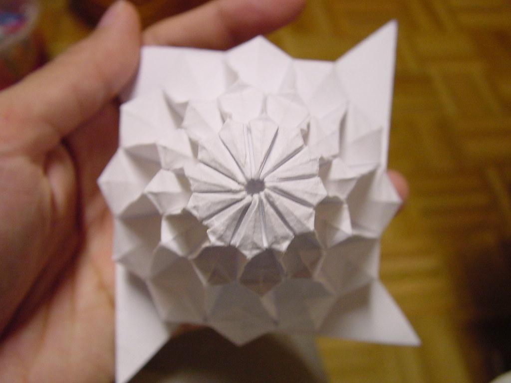 12 fold 3 layer flower tower chris palmer top view flickr 12 fold 3 layer flower tower chris palmer top view mightylinksfo