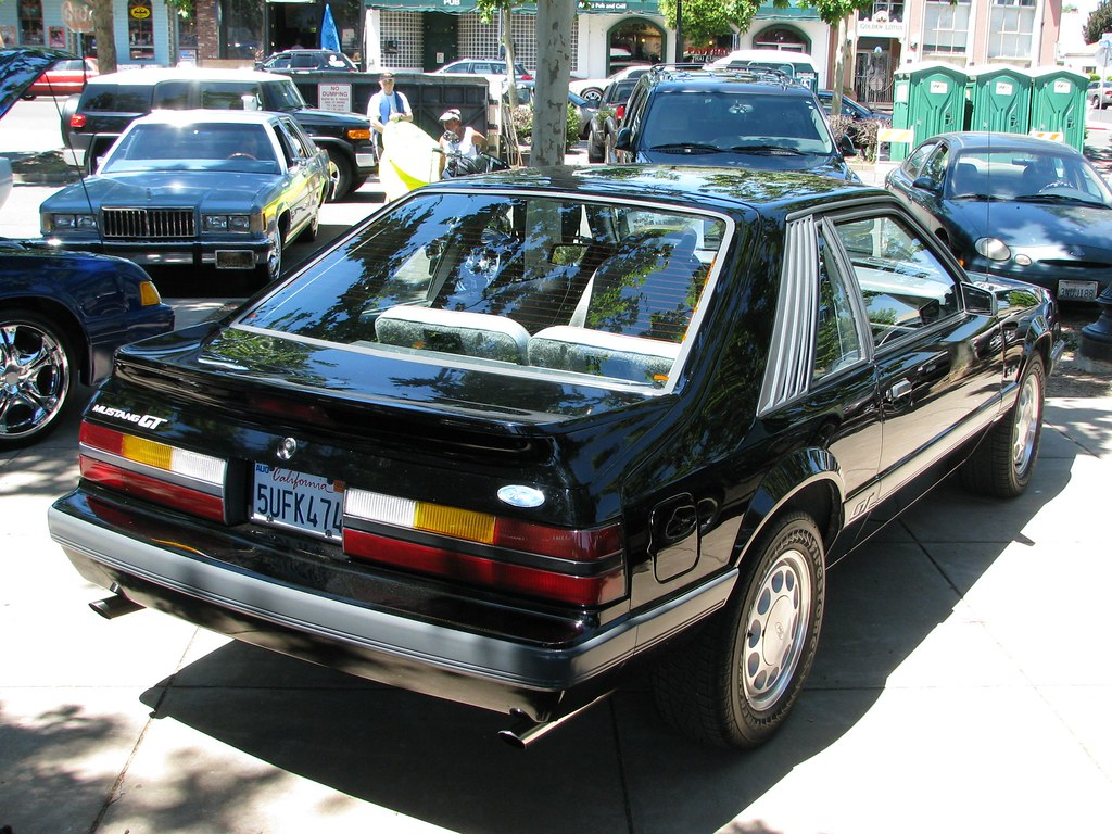 1986 Ford Mustang Gt Hatchnack 5ufk474 7 Jack Snell Flickr By Thanks For