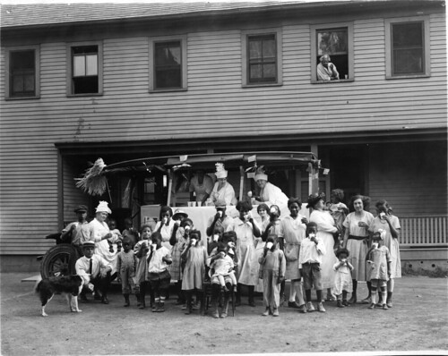 Rochester ''Milk Week'' in the same year as Items 32-33. Scene is Dorsey Home ... | by Cornell University Library