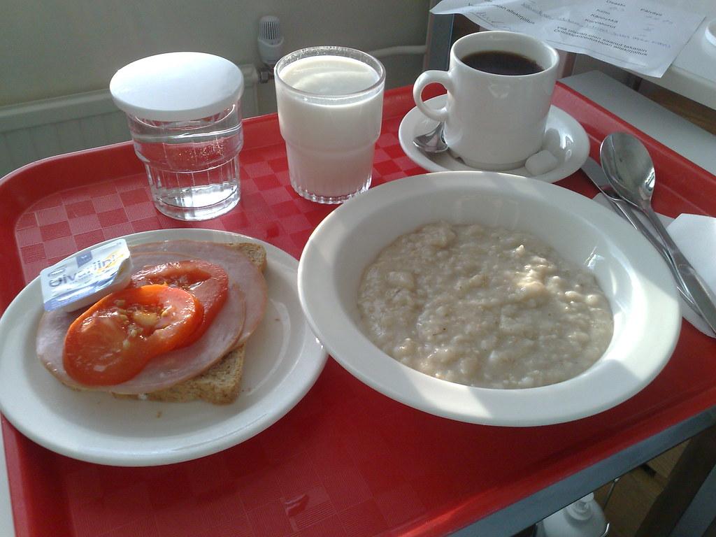 Hatanp 228 228 Hospital Breakfast Miia Sample Flickr