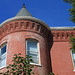 Turret of Rowhouse in Logan Circle