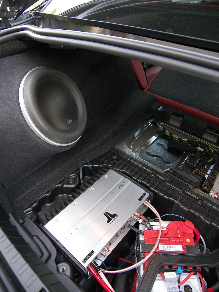 Tplsm3 Custom Fiberglass Subwoofer Enclosure W Exposed Amp