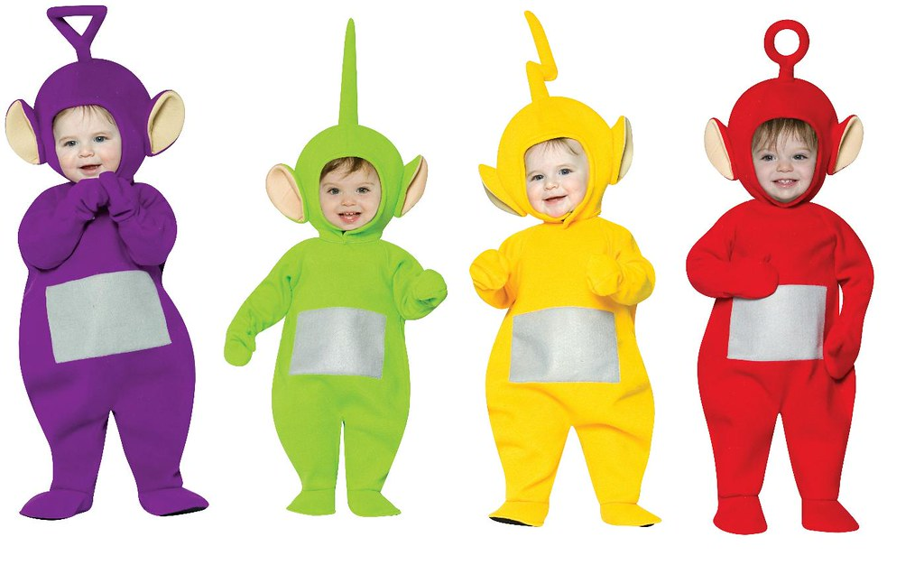 teletubbies halloween costumes by kas10900