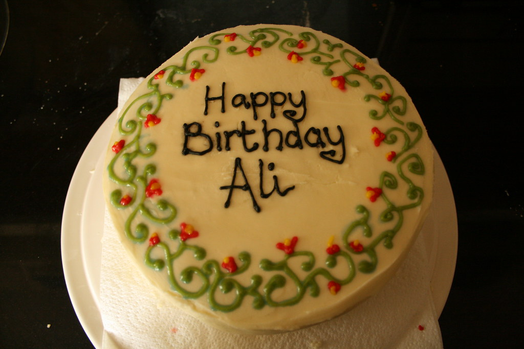 I Made Ali A Birthday Cake Maire Flynn Flickr