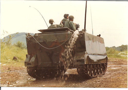 Tracks For Vehicles >> M113 Bilge Pump in Action | After swimming in the unfinished… | Flickr