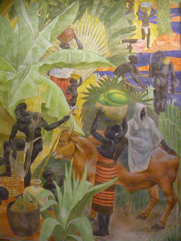 FRESQUES ART-DECO - PALAIS DE LA PORTE DOREE - CITE NATION ...