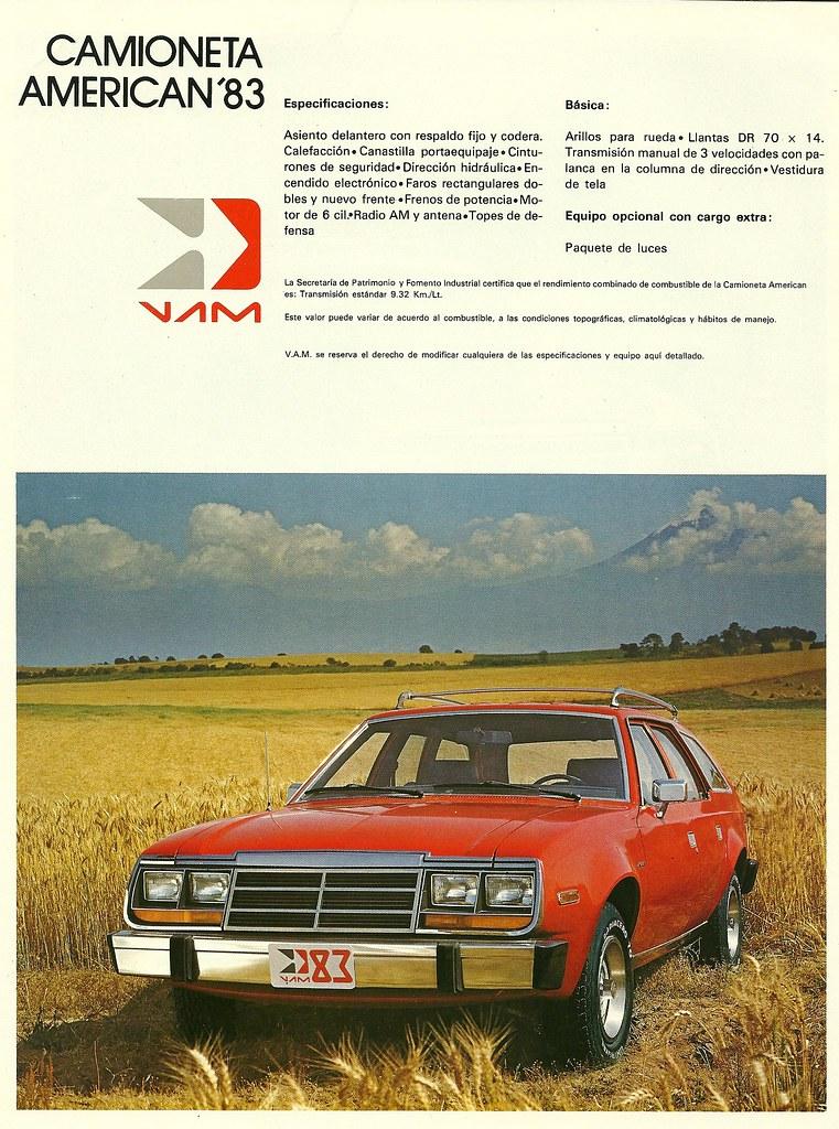 Parts Of Cars >> VAM American 1983   Built in Mexico under license. Still usi…   Flickr