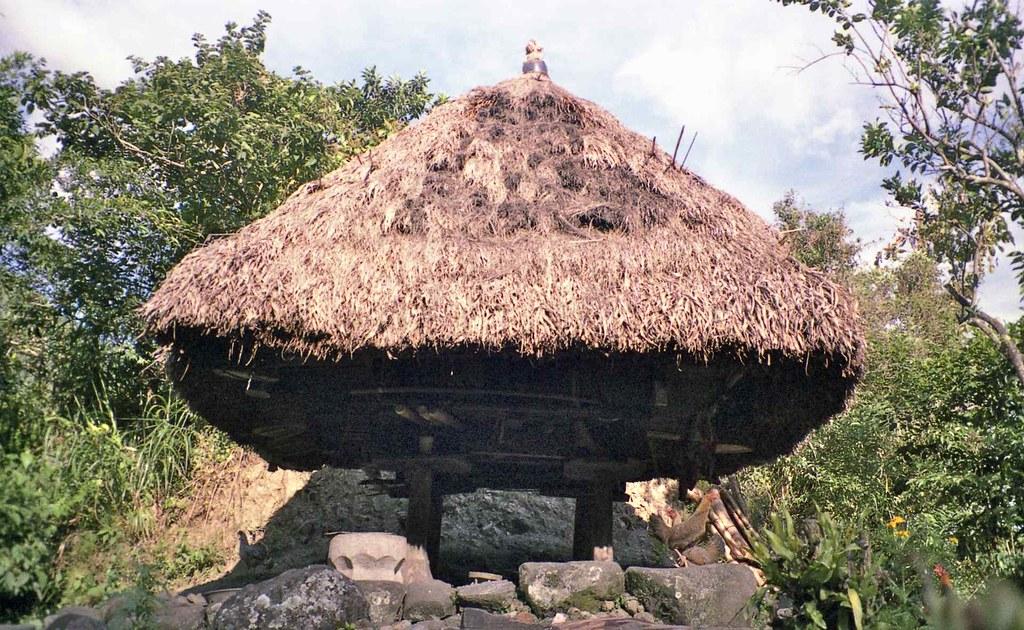Traditional Ifugao Style House Batad Ifugao Philippines