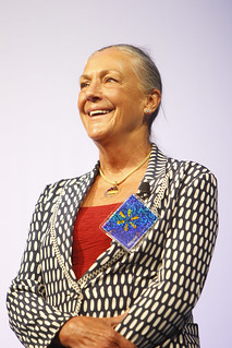 Alice Walton presenting the Sam M. Walton Entrepreneur of the Year Award at the 2011 Walmart Shareholders Meeting | by Walmart Corporate