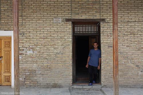 Hammam de boukhara porte d 39 entr e d 39 un hammam du xvie for Porte de hammam